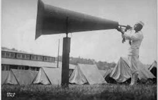 Listening To The Megaphone